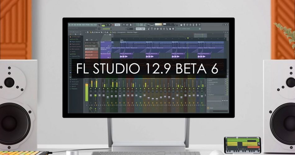 Image Line FL Studio 12.9 beta6