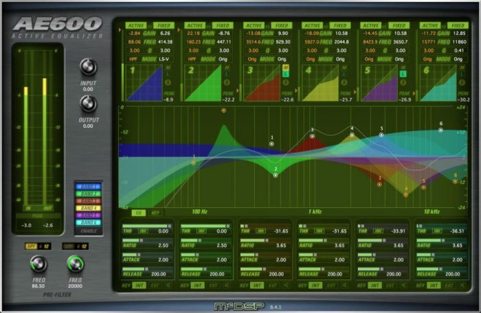 McDSP AE600 Active EQ