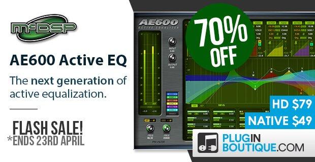 McDSP AE600 Active EQ Sale