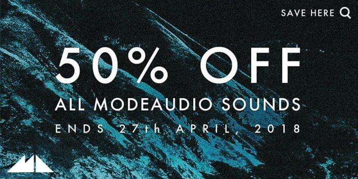 ModeAudio Sale 50 OFF
