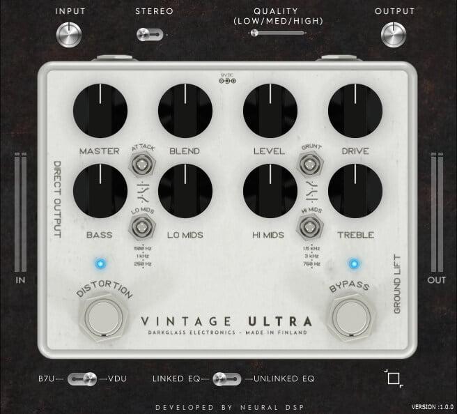 Neural DSP Darkglass Ultra Plugins Vintage Ultra