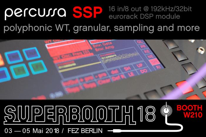 Percussa SSP Superbooth 2018