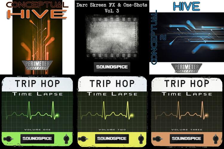 Perimeter Sound Conceptual Hive & SoundSpice Time Lapse and DarcSkreen Vol 3