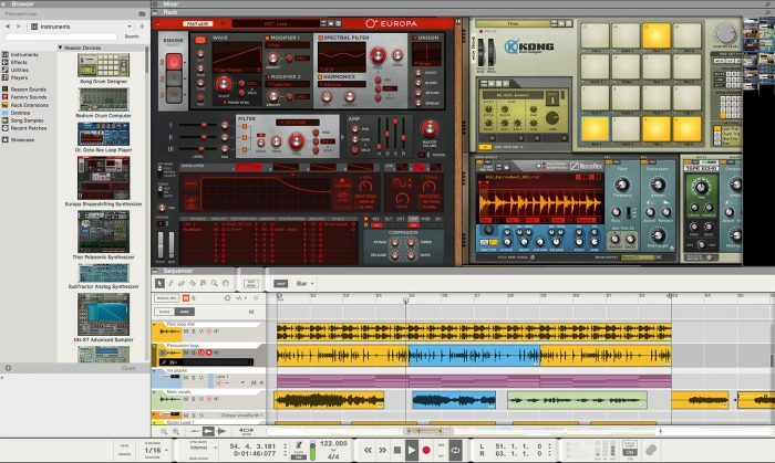 Propellerhead Reason Intro