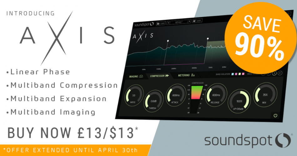 SoundSpot Axis sale extended