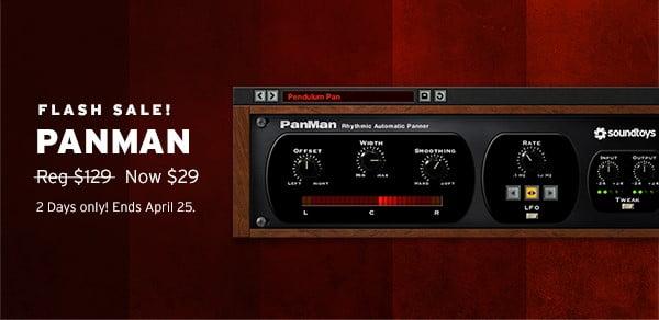 Soundtoys PanMan Flash