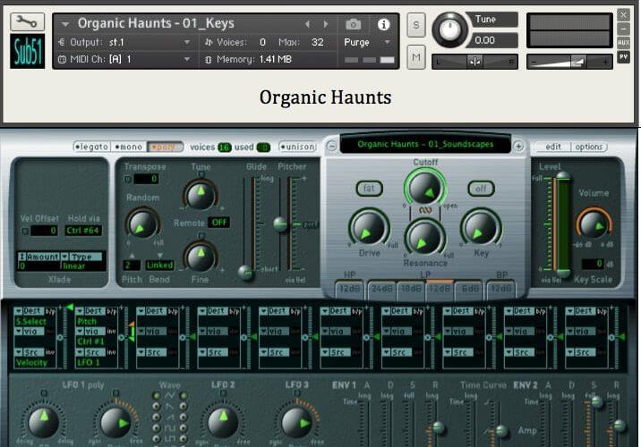 Sub51 Organic Haunts