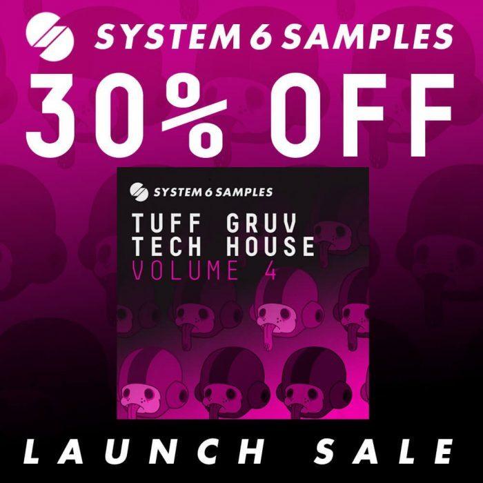 System 6 Samples Tuff Gruv Techno Vol 4