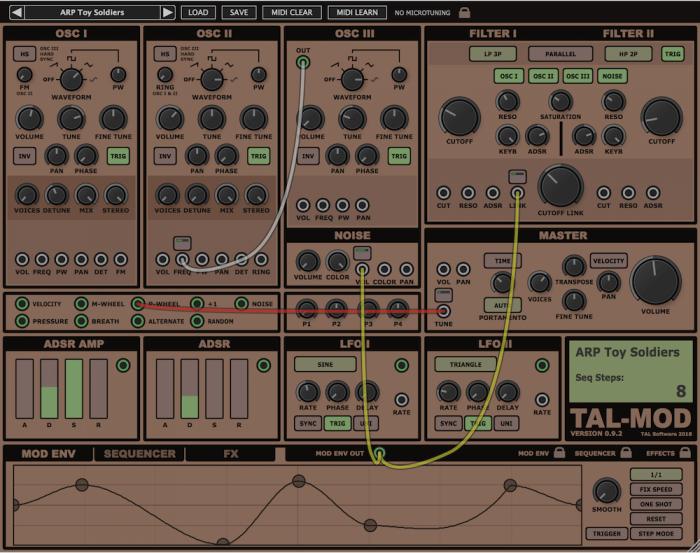 Togu Audio Line TAL-Mod beta