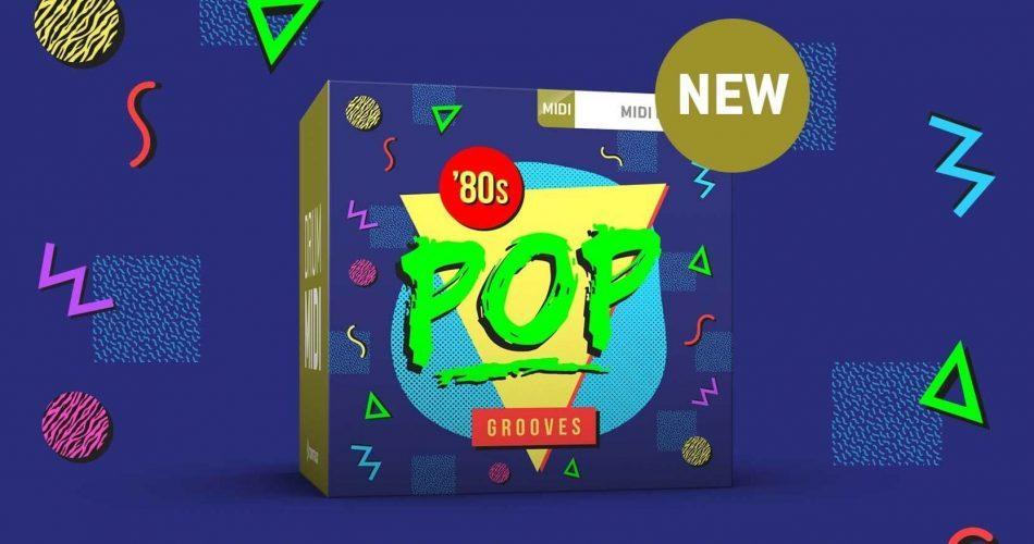 Toontrack 80s Pop Grooves MIDI