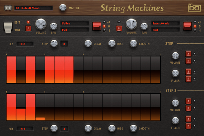 UVI String Machines step