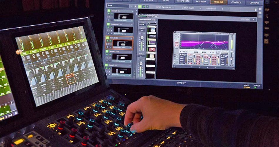 Waves Soundgrid Rack for Venue