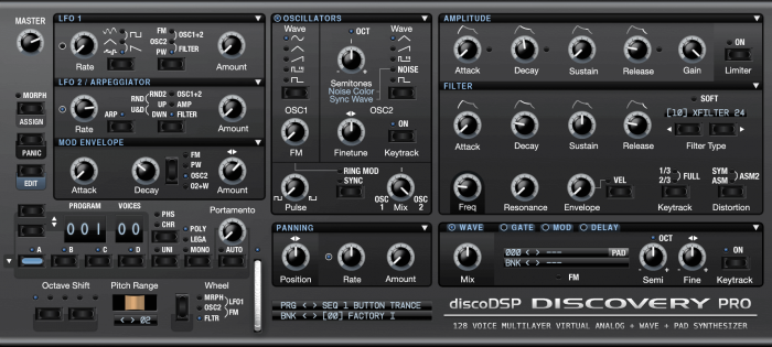 discoDSP Discovery Pro 6.7