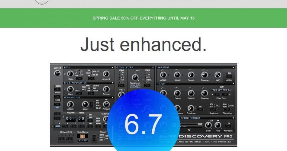 discoDSP Spring Sale 2018