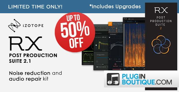 iZotope RX Post Production Suite sale
