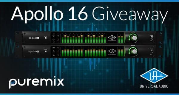 pureNet Universal Audio Apollo 16 giveaway