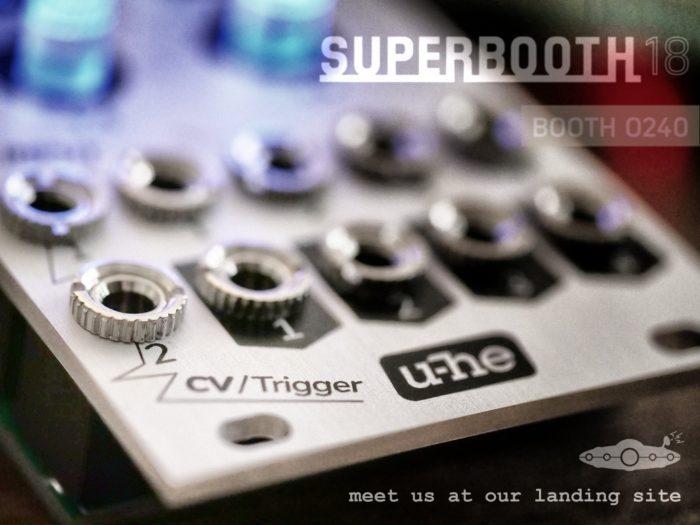u he Superbooth modular