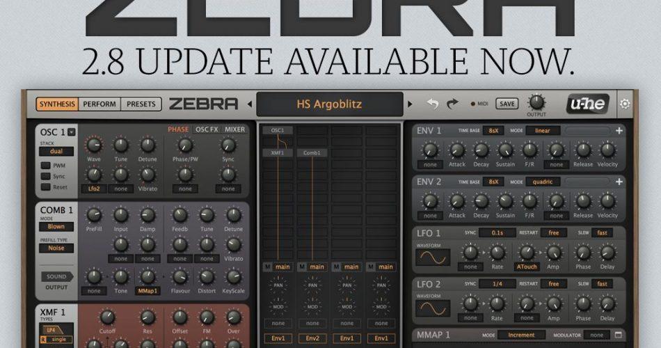 u he Zebra 2.8 update