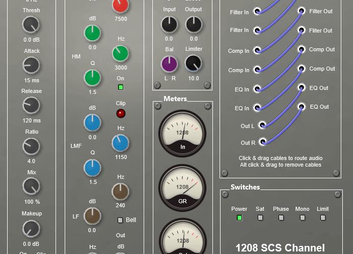 1208 Audio SCS Channel 101