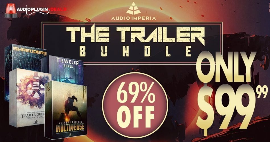 Audio Plugin Deals Audio Imperia Trailer Bundle Deal