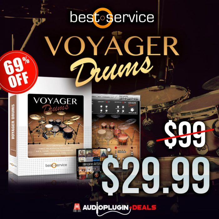 Audio Plugin Deals Best Service Voyager Drums