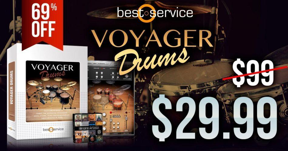 Audio Plugin Deals Best Service Voyager Drums feat