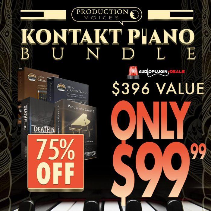 Audio Plugin Deals Production Voices Kontakt Piano Bundle