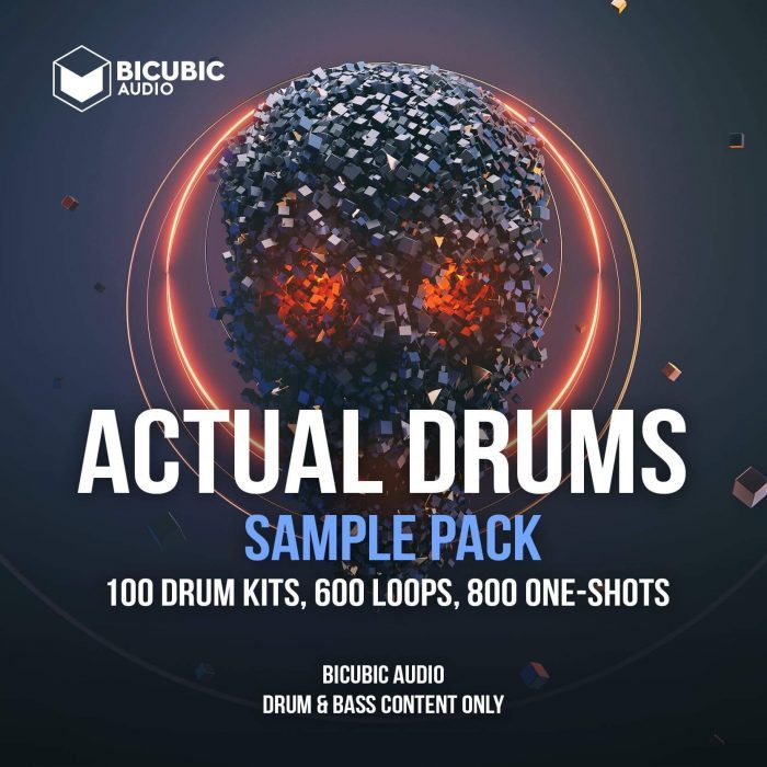 Bicubic Audio Actual Drums