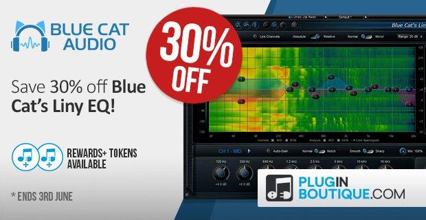 BlueCatAudio LinyEQ30 PluginBoutique