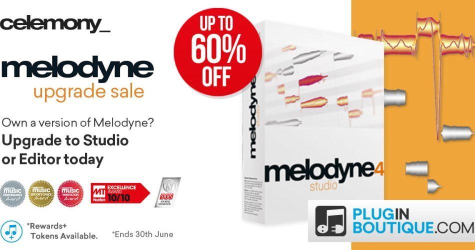 Celemony Melodyne Upgrades 60