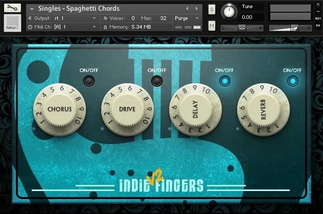 Dream Audio Tools Indie Fingers Vol 2
