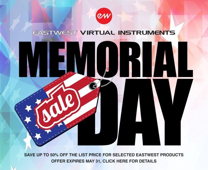 EastWest Memorial Day Sale 2018