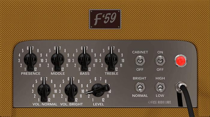 Fuse Audio Labs F 59 screen