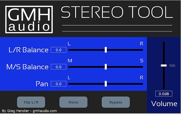 GMH Audio Stereo Tool