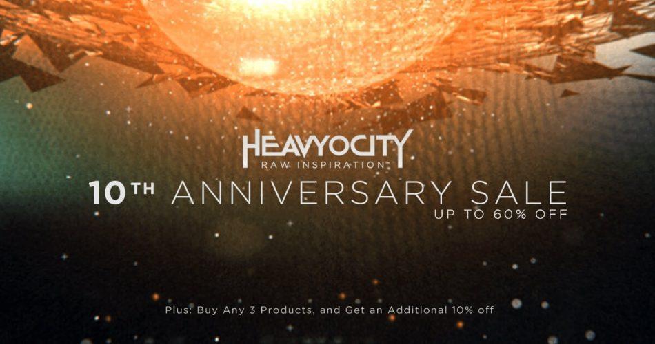 Heavyocity 10th Anniversary Sale