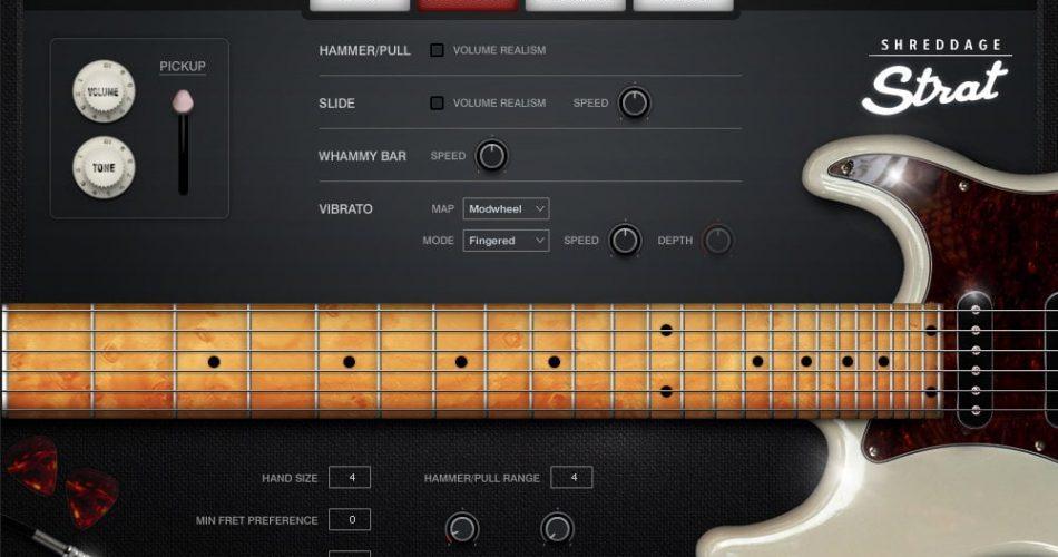 Impact Soundworks Shreddage Strat