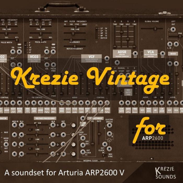 Krezie Sounds Krezie Vintage for ARP2600 V