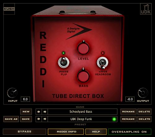 Kush Audio REDDI Tube DI