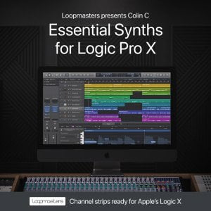 Loopmasters Essential Synths for Logic X