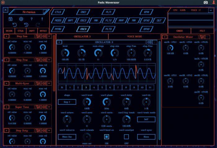 MOK Waverazor 2 Editor mode 1