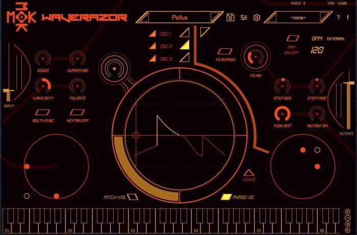 MOK Waverazor 2 Editor orange