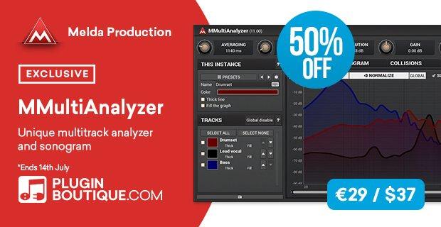 MeldaProduction MMultiAnalyzer 50% OFF