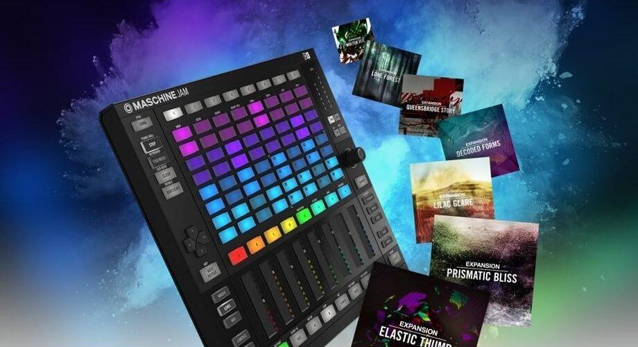 NI Maschine Jam Expansions promo
