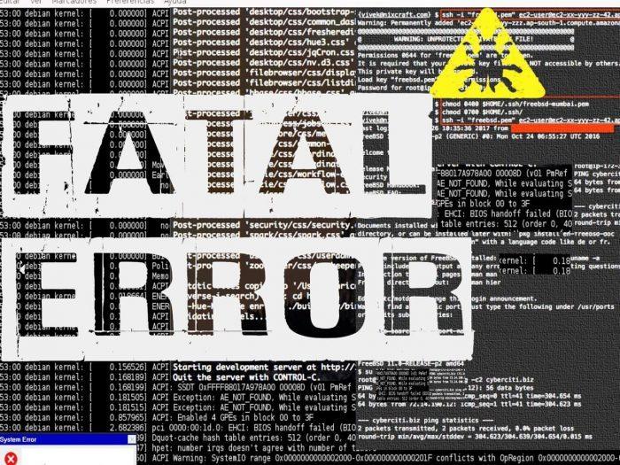 Outsider Sound Design Fatal Error