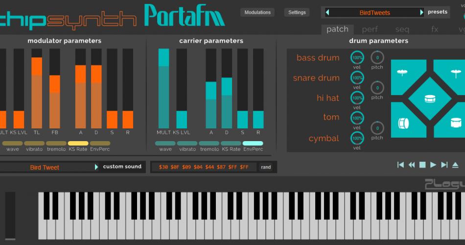 Plogue chipsynth PortaFM