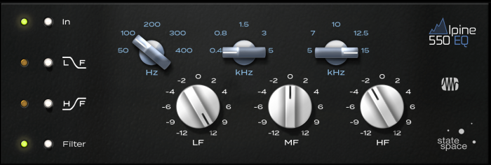 PreSonus Fat Channel Alpine EQ