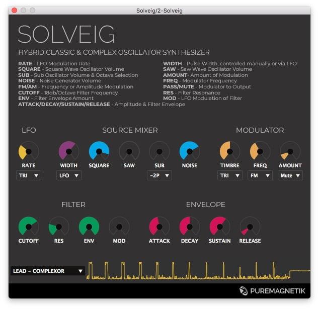 Puremagnetik Solveig screenshot