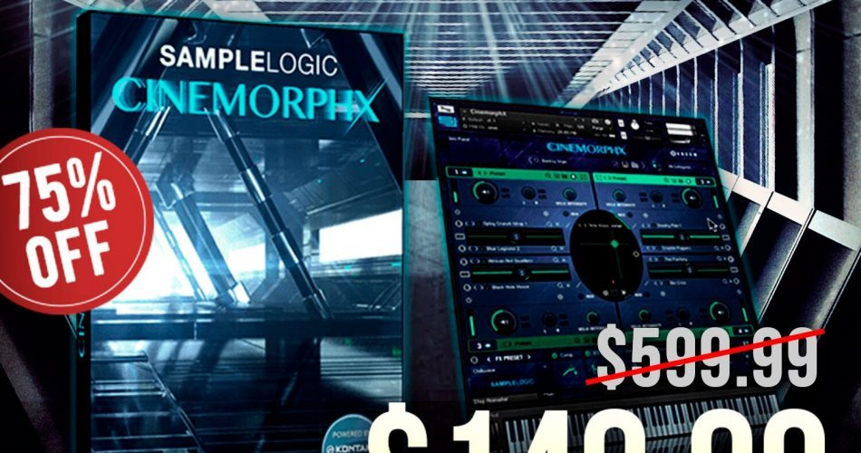 Sample Logic Cinemorphx 75 OFF