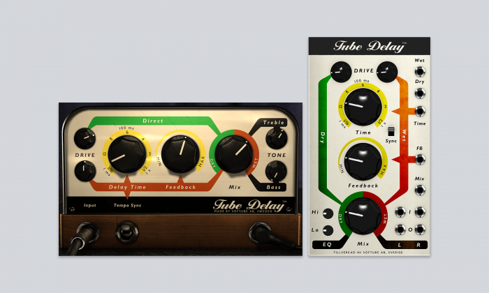 Softube Tube Delay for Modular