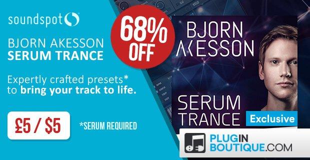 SoundSpot Bjorn Akesson Serum Trance deal